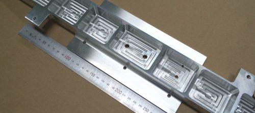 アルミ/A5052/NCフライス加工/中型精密切削加工品