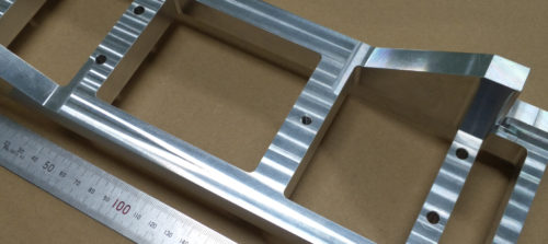 アルミ/A5052/フライス・マシニング加工