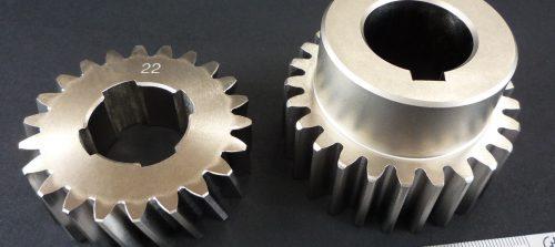 鉄/SCM435/駆動部ギヤ/NC旋盤加工+ギヤ加工