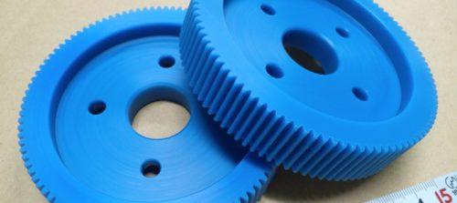 樹脂・プラスチック/MC901(MCナイロン)/歯切り加工