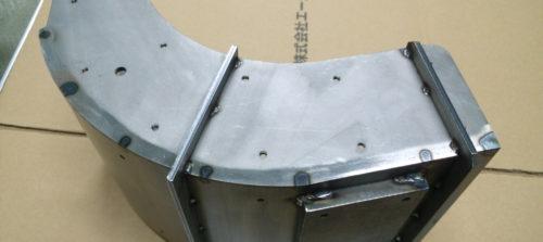 鉄/ダクト/製缶加工/タップ溶接加工
