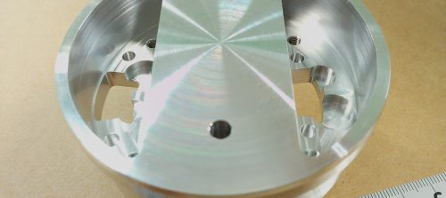 アルミ/A5052/複合旋盤加工