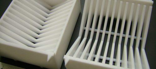 テフロン/PTFE/ウェハー保管用ケース/樹脂切削加工