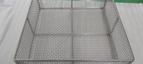 ステンレス/SUS304/メッシュ網カゴ/組立+溶接加工