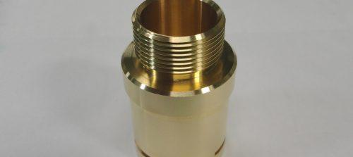 銅/C3604(快削真鍮)/NC旋盤加工品