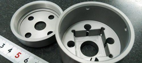 アルミ/A2017/複合旋盤加工+硬質アルマイト