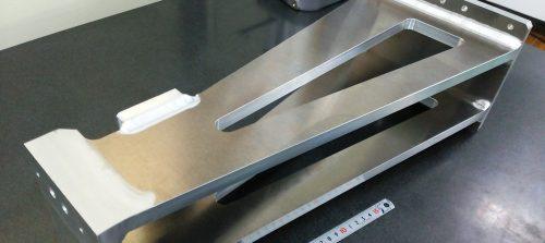 アルミ/A5052/切削加工品+Tig溶接(アルゴン溶接)+製缶機械加工品
