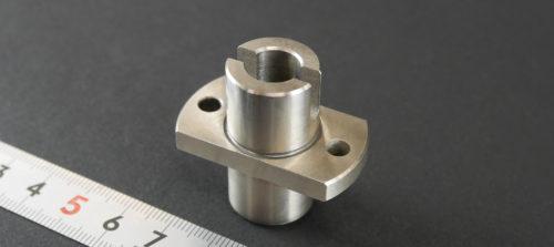 鉄/SS400/旋盤加工/ワイヤーカット/無電解ニッケルメッキ