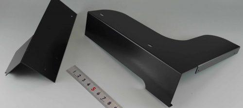 鉄/SPCC/装置カバー/薄板板金加工+焼付塗装