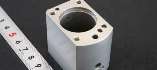 アルミ/A5052/マシニング加工/硬質アルマイト