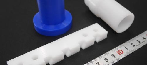 POM(ポリアセタール)/PTFE(フッ素樹脂)/MCナイロン/切削加工