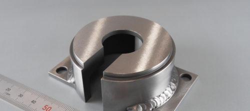 鉄/S45C/溶接加工/平面研磨加工