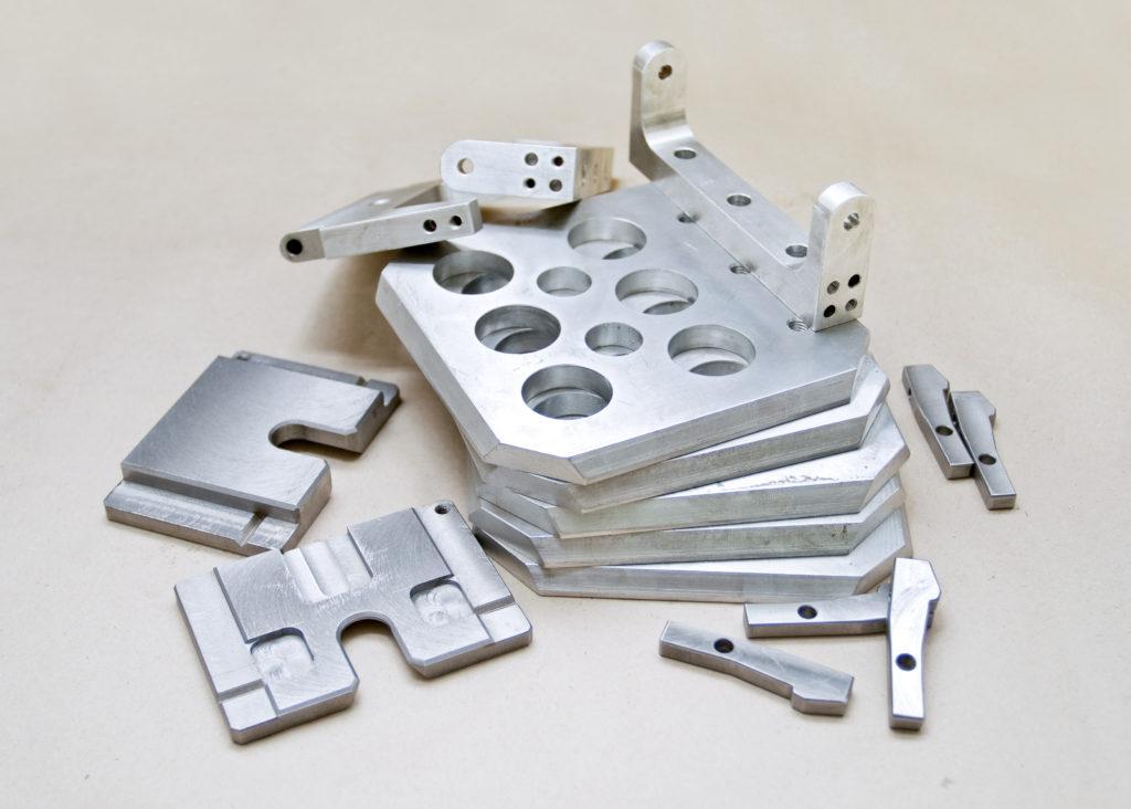 アルミ加工部品のイメージ画像
